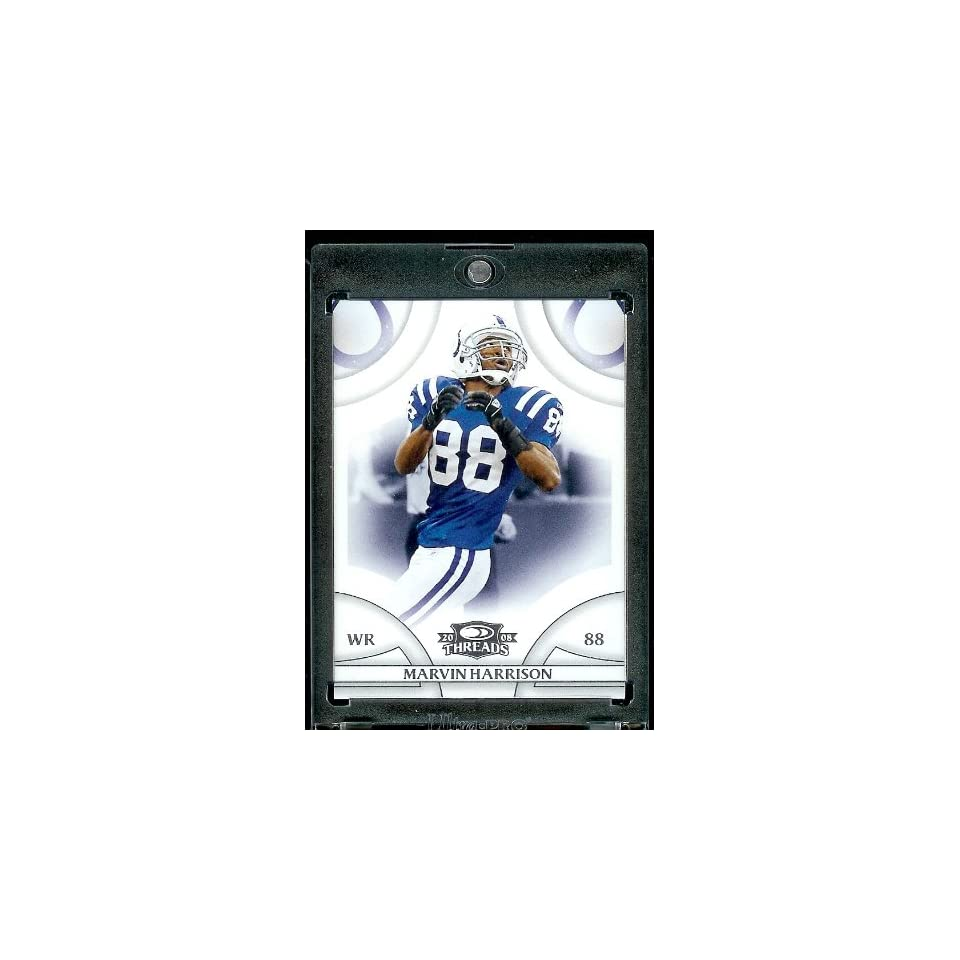 2008 Donruss Threads (Football) # 57 Marvin Harrison WR   Indianapolis Colts   NFL Trading Card