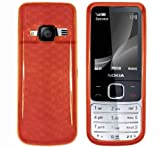 Cooltechstuff Nokia 6700 Classic Hexagon Diamond Soft Silicone TPU Orange Case Cover - Part of Cooltechstuff Store Accessories
