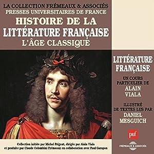 L'Age classique (Histoire de la littérature française 3) Speech