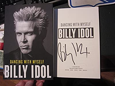 Billy Idol Signed Autographed Book Dancing With Myself