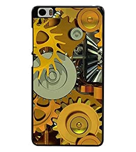 PRINTSWAG MACHINERY Designer Back Cover Case for XIAOMI MI5