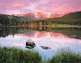 Mountain Mirror 500 Piece Jigsaw Puzzle