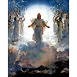 Second Coming Of Jesus Christ Art Print POSTER quality