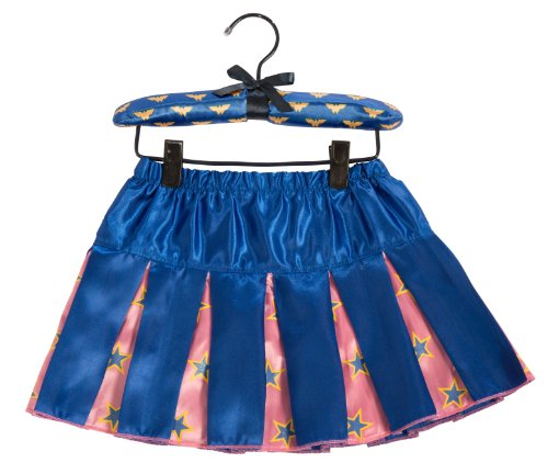 Wonder Woman Super Best Friends Pleated Skirt With Puff Hanger