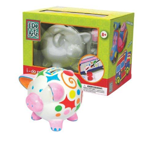 Family Games Piggy Bank Porcelain Paint Kit - 1