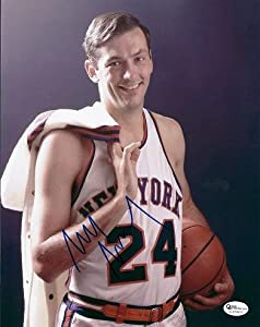 Bill Bradley Autographed Hand Signed New York Knicks 8x10 Photo by Real+Deal+Memorabilia