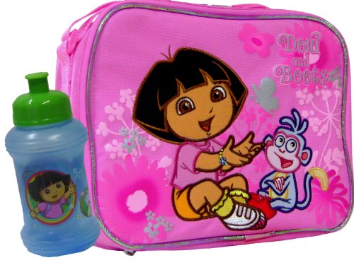 Dora the Explorer and Boots Insulated Lunch Bag & Cup