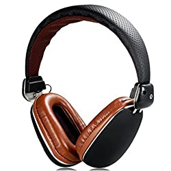 Mobilegear Wireless Bluetooth Headphone With Deep Bass & High Treble Effect & inbuit MIC - Black
