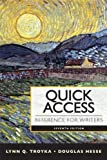 Quick Access Reference for Writers (7th Edition)