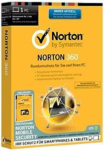 Norton 360 1User + Norton Mobile Security 1User
