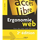 Ergonomie Web : Pour des sites web efficacespar Am�lie Boucher