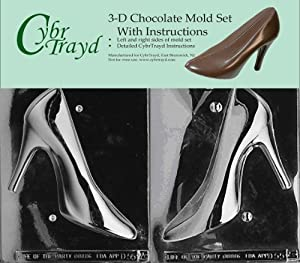 chocolate shoe mold instructions