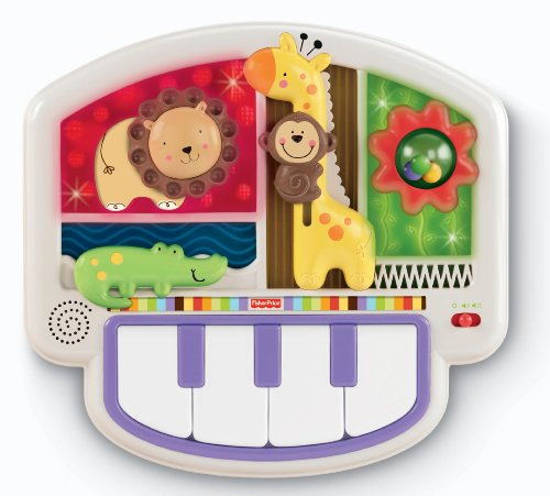 Fisher-Price Luv U Zoo Crib-to-Floor Activity Piano
