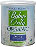 51cHLkl7SvL. SL160  Babys Only Organic Toddler Formula, Dairy Iron Fortified, 12.7 Ounce Canisters (Pack of 3)