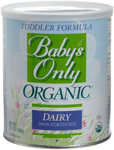 Babys Only Organic Toddler Formula, Dairy Iron Fortified, 12.7-Ounce Canisters (Pack of 3)Babys Only Organic Toddler Formula, Dairy Iron Fortified, 12.7-Ounce Canisters (Pack of 3)