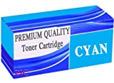 Compatible Cyan Toner Cartridge Set for OKI C310 C310N C310dn C330 C330DN C331 C510 C511 C530 C530DN C531 MC351DN C351 MC352 MC361 MC362 MC561 MC561DN MC562 Laser Printers (1x Cyan - 44469806) **by Printer Ink Cartridges**
