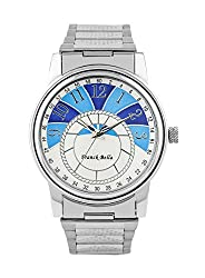 Franck Bella Exclusive Series A Superbely Designed watch with silver case Analog Mens Watch-FB0199A