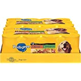 PEDIGREE CHOICE CUTS Variety Pack With Beef & Country Stew Dog Food 13.2 Ounces (Two 12-Can Cases)