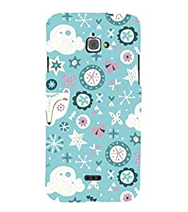 Ebby Premium Printed Back Case Cover With Full protection For Infocus M350 (Designer Case)