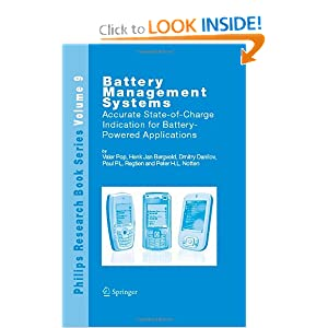 Battery Management Systems: Accurate State-of-Charge Indication for Battery-Powered Applications (Philips Research Book Series) ebook