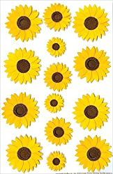 Martha Stewart Stickers, Sunflower