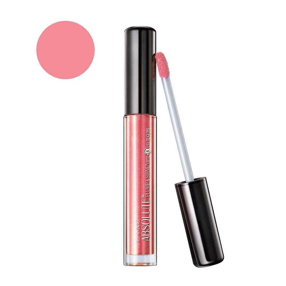 Buy Lakme Absolute Plump & Shine Lip Gloss, Rose Shine, 3 G Online At Low  Prices In India  Amazon