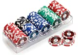 51cHVpwKWML. SL160  Piatnik  790591   Pro Poker 100 High Gloss Chips 14g