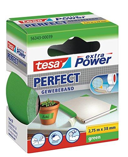 tesa-Gewebeband-extra-Power-Perfect-grn-275m-x-38mm