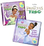 Princess and the Frog Bath Books