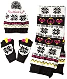 Berkshire Girls 7-16 Fair Isle Cold Weather Hat Set