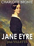Image of JANE EYRE (illustrated, complete, and unabridged) (plus Villette)