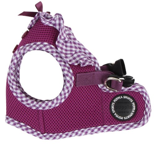 Puppia Authentic Vivien Vest Harness B, Small, Purple (Puppia Purple Vest Harness compare prices)