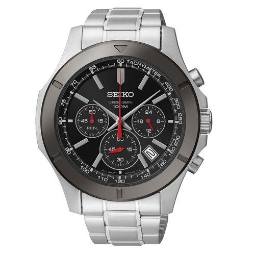 Seiko Chronograph Men'S Quartz Watch Ssb111