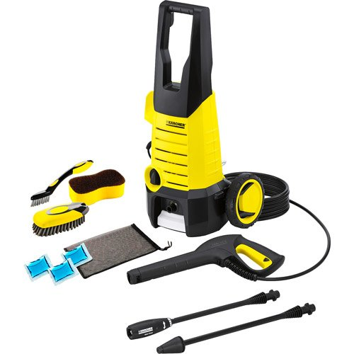 Karcher 1600 Psi Electric Pressure Washer With Car Wash Kit