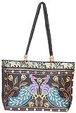Craftshraft Women's Shoulder Bag (craft-74, Black)