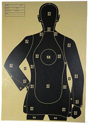 射撃用 マンターゲット 3種 6枚セット