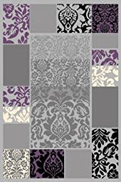 LA Rug Urban Multi Grey Tone Area Rug (2 by 4 Foot) 521-99