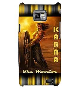 ColourCraft Karna the Warrior Design Back Case Cover for SAMSUNG GALAXY S2 I9100