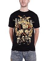 Babymetal ベビーメタル Tシャツ Fox Faces Big Brixton Event UK Tour 2014 イギリスツアー2014 ブラック