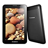 Lenovo IdeaTab A3000 Tablet Computer PC with 3G / 2G Cell Phone Call 7.0 inch Android 4.2 MTK8389 1.2GHz Quad Core RAM 1GB ROM 16GB (with OTG Cable) (Black)