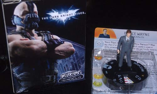 DC Heroclix Dark Knight Rises Counter top Bruce Wayne - 1