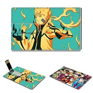 Naruto Naruto Uzumaki Anime Comic Games ACG Customized USB Flash Drive 16GB