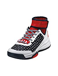 Adidas Dual Threat Bb Basketball Shoes Royal/white/scarlet