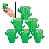 Cactus Shot Glasses Cinco De Mayo & Party Tableware
