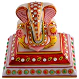 Craft And Craft Handicrafts's Square Choki Ganesh Ji