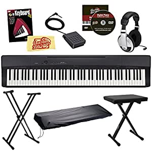 Casio Privia PX-160 Digital Piano Bundle with