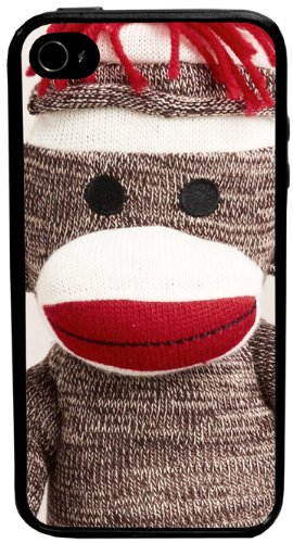 CellPowerCasesTM Sock Monkey iPhone 4 Case - Fits iPhone 4 and iPhone 4S