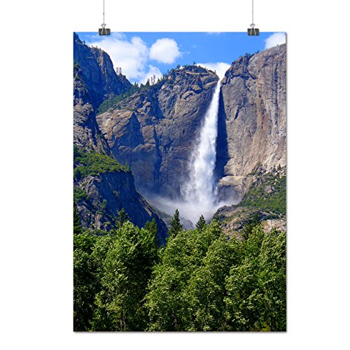 mountain-waterfall-nature-beauty-matte-glossy-poster-a1-84cm-x-60cm-wellcoda