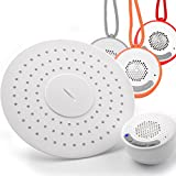 YOO.MEE Upgraded Version Rain Showerheads with Wireless Bluetooth Shower Speakers for Music or Phone Delivery -Portable Outdoor Waterproof Speakers Upgraded