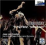 ストラヴィンスキー:「春の祭典」、「ミューズの神を率いるアポロ」